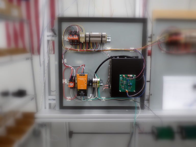 electronic enclosure _ control panel
